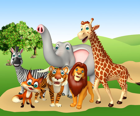 wildlife conservation: 3d rendered illustration of wild animal