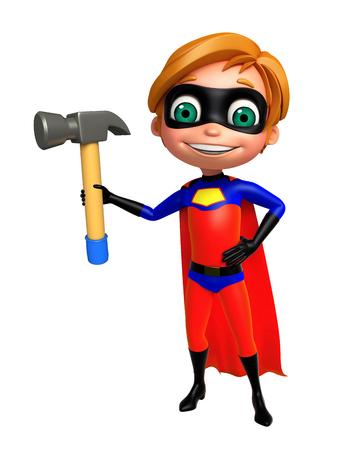 superboy: Superboy with Hammer