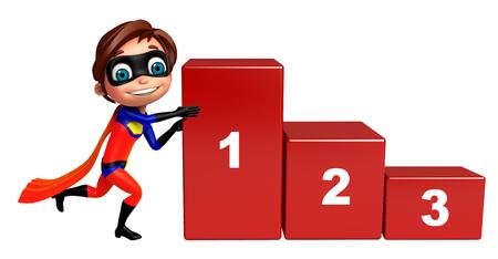 superboy: Superboy with 123 level