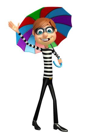 trespass: Thief with Umbrella