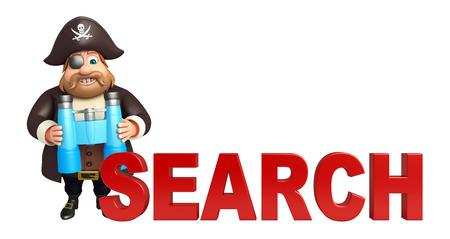 tricorne: Pirate with Binocular & search