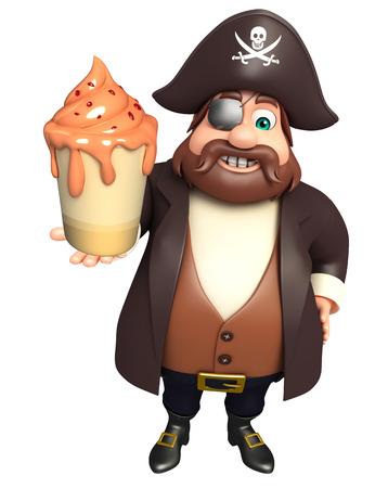 tricorne: Pirate with Ice cream
