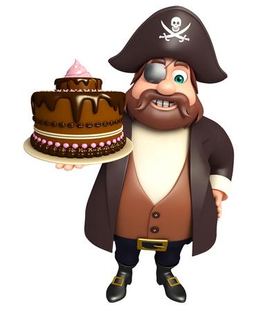 tricorne: Pirate with Cake