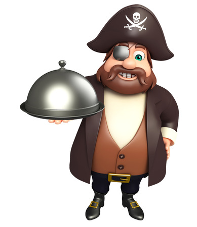 Pirate with Cloche