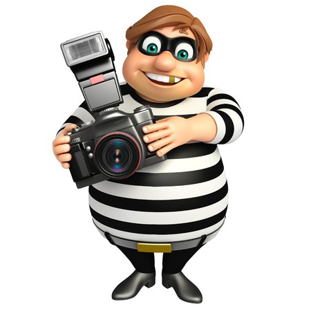 Thief with Camera