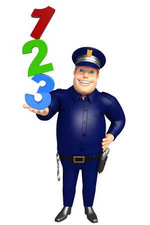 123 記号と警察