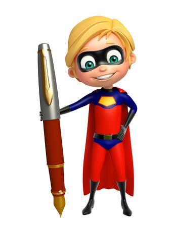 superboy: Superboy with Pen