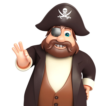 tricorne: Pirate with Best pose