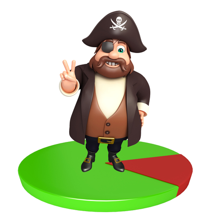 Pirate with Circle sign