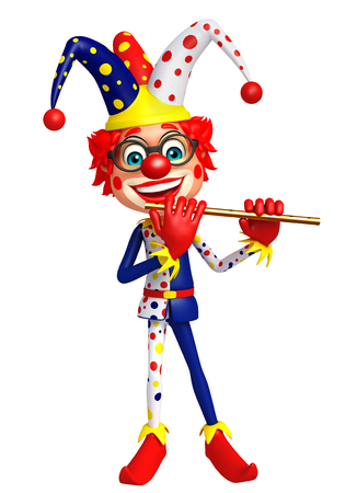 flute: Clown with Flute