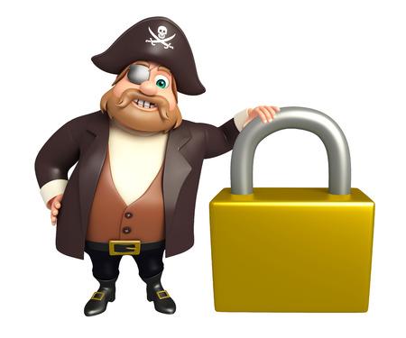 tricorne: Pirate with Lock
