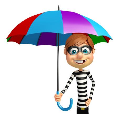 con: Thief with Umbrella