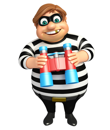 Thief with Binocular