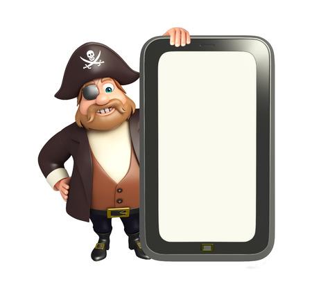 tricorne: Pirate with Mobile