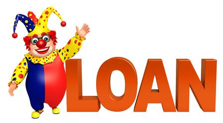 Clown with Loan