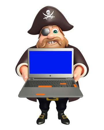 tricorne: Pirate with Laptop