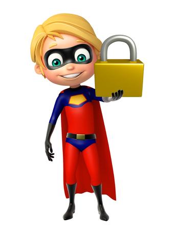 superboy: Superboy with Lock