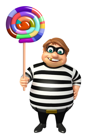 kidnapper: Thief with Lollypop