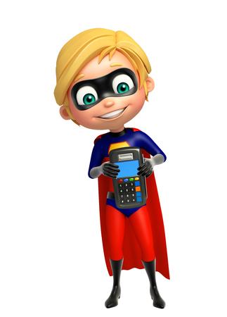 superboy: Superboy with Swap machine
