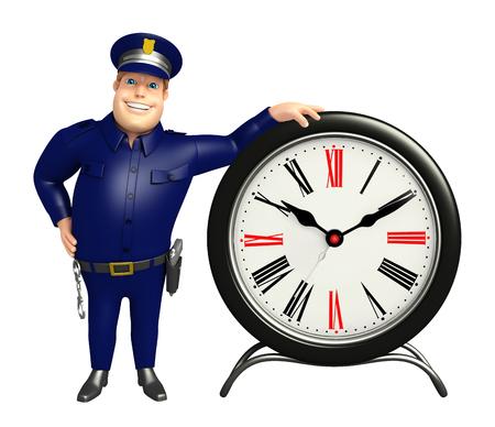 時計と警察