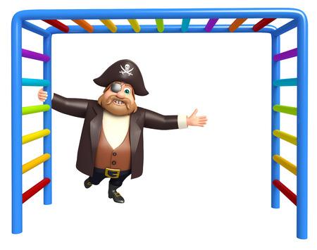 tricorne: Pirate with Climbing