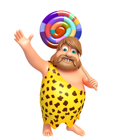 lollypop: Caveman with Lollypop