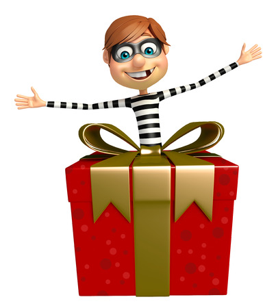Thief with Giftbox