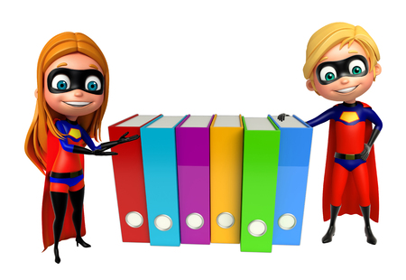 supergirl: Superboy and Supergirl with Files