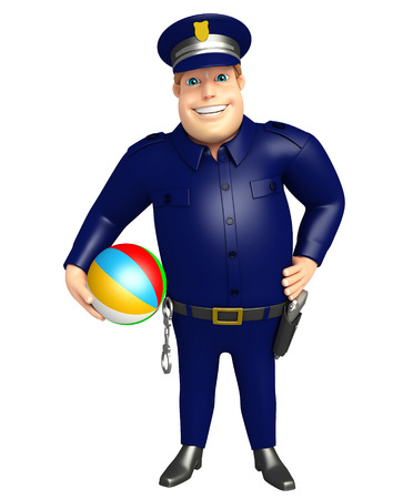 Bigball 警察