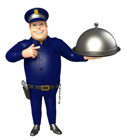 Police with Cloche
