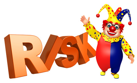 wig: Clown with Risk
