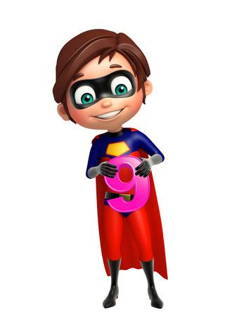 superboy: Superboy with 8 Digit