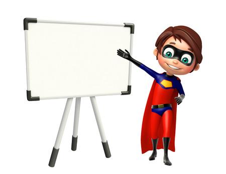 superboy: Superboy with Display board