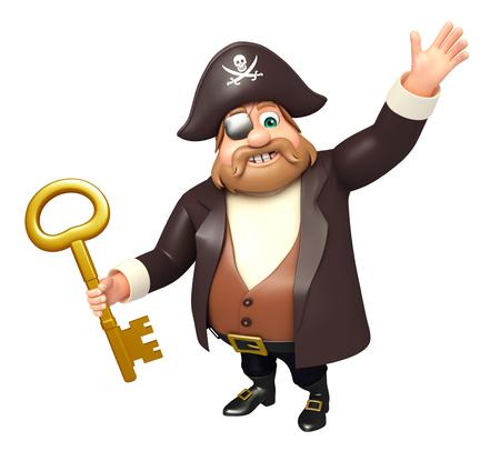 tricorne: Pirate with Key