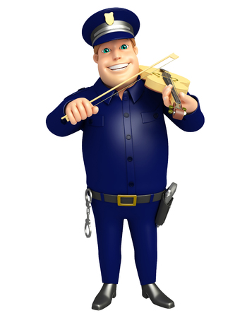 バイオリンと警察