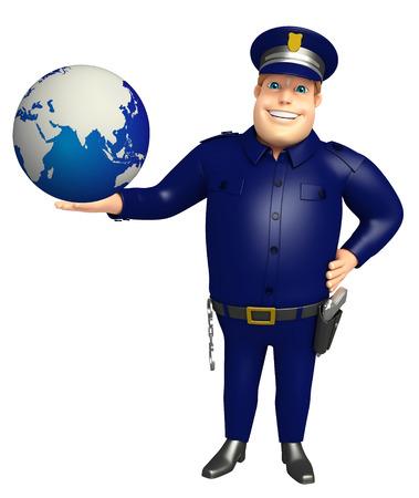 地球と警察