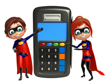 superboy: superboy and supergirl with Swap machine