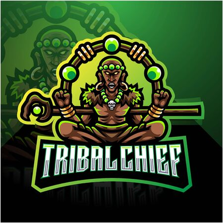 Tribal chief esport mascot