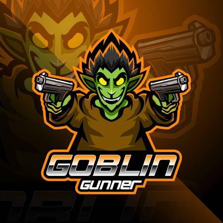 Goblin esport mascot logo design