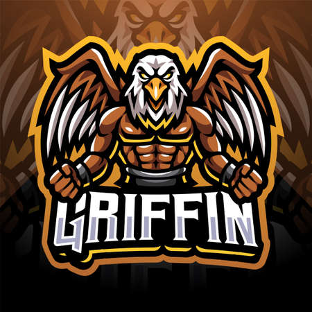 Griffin sport mascot emblem