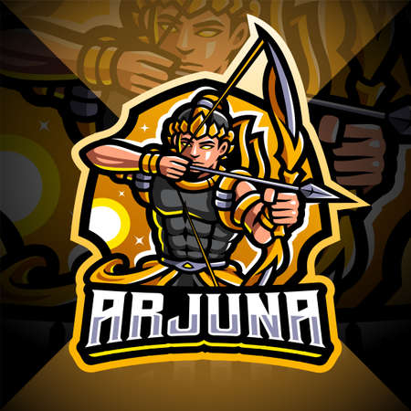 Arjuna archer sport mascot