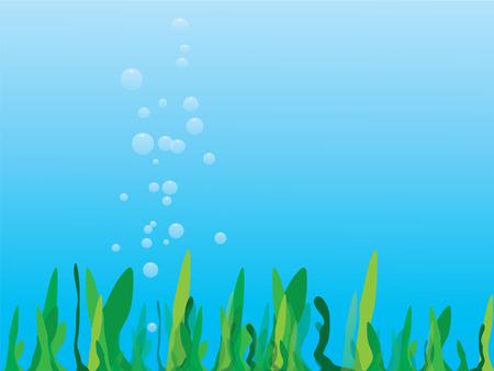 Sea grass Vector