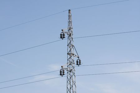 electricity providers: Transmission Stock Photo