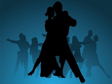 Dance vector background Vector