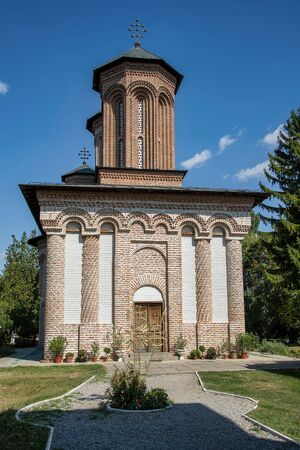 Snagov Monastary, the supposed resting place of Vlad the Impaler