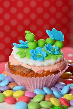 cake pick: Cup cake