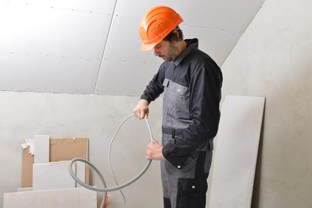journeyman technician: Certified electrician worker