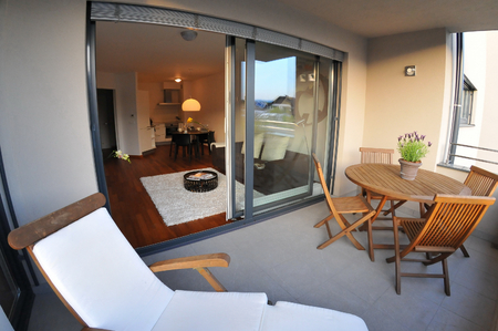 Beautiful new peaceful, modern home photo