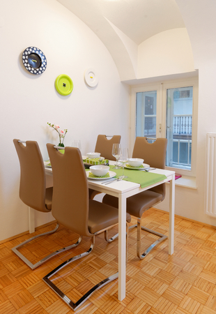 Modern dining room photo