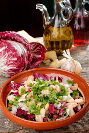 roman beans: Mixed salad